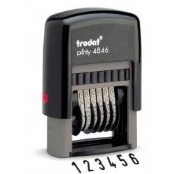 Numéroteur auto-encreur 6 bandes ref. 4846