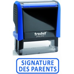 Formule commerciale SIGNATURE DES PARENTS