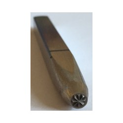 Poinçon de bijoutier de 1 à 10 mm