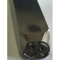 Poinçon pour couteaux de 6 à 20 mm