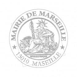 Timbre à sec Marianne150 à 200g