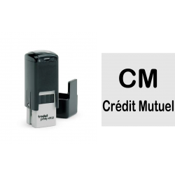 Mini tampon 2 lignes 10X10 mm ref. 4921