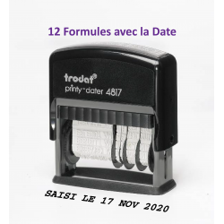 Dateur multiformules 47x3.8 mm ref. 4817A