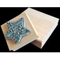 Tampon personnalisé en bois