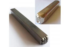 Poinçons pour métal, bijoux et bois